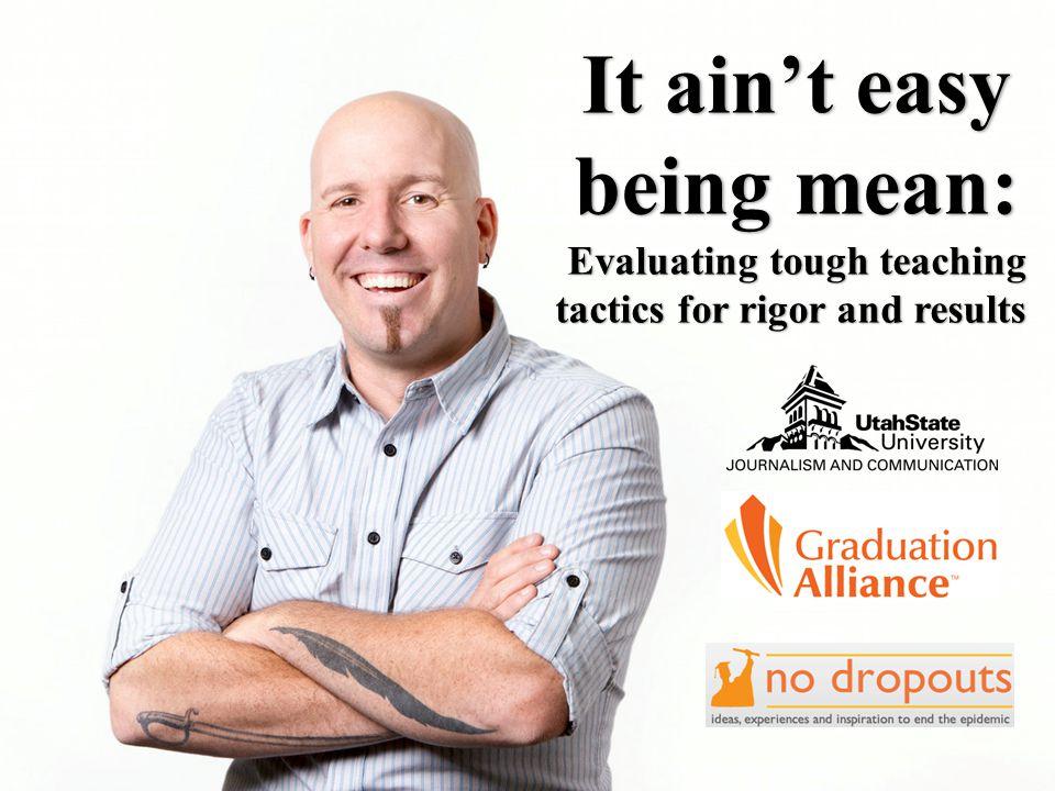 TOUGH TEACHERS PUSH HIGH-ACHIEVING STUDENTS HIGHER.