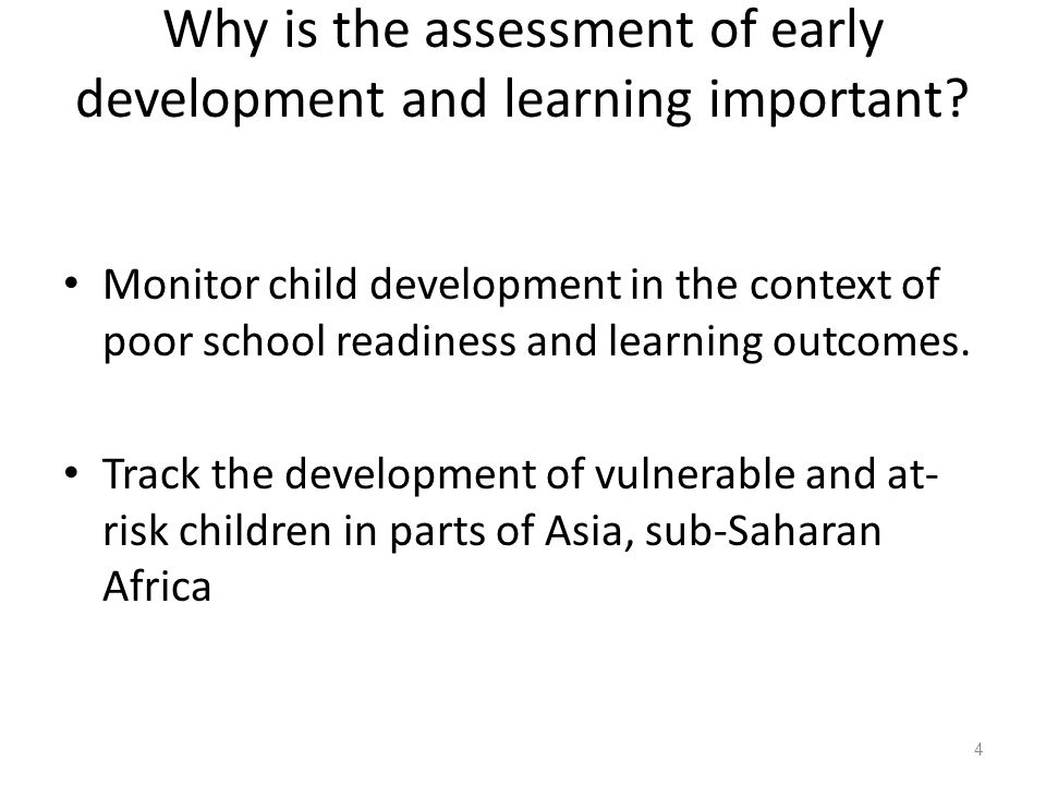 What are Early Learning and Development Standards.