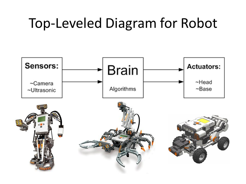 Software Diagram for Robot