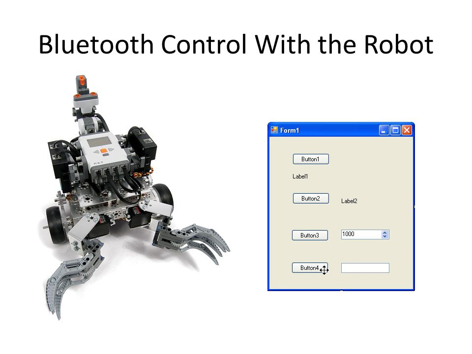 Bluetooth Control With the Robot