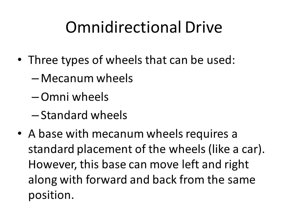 By moving the each pair (side-by-side position wheels) in opposite directions, it is able to move left and right.