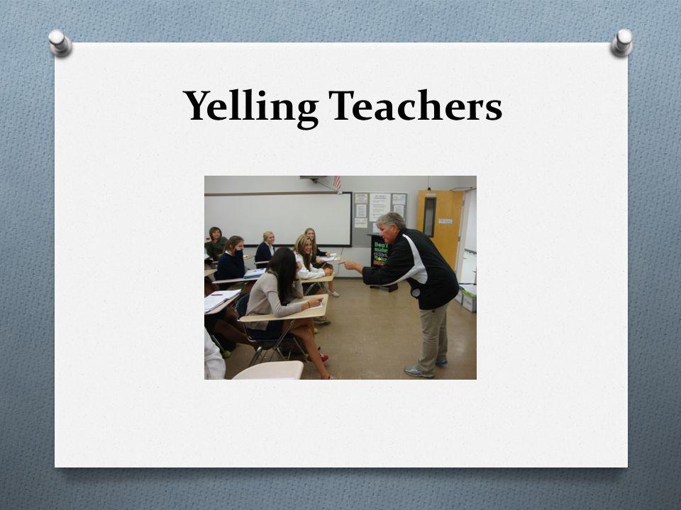 Yelling Teachers