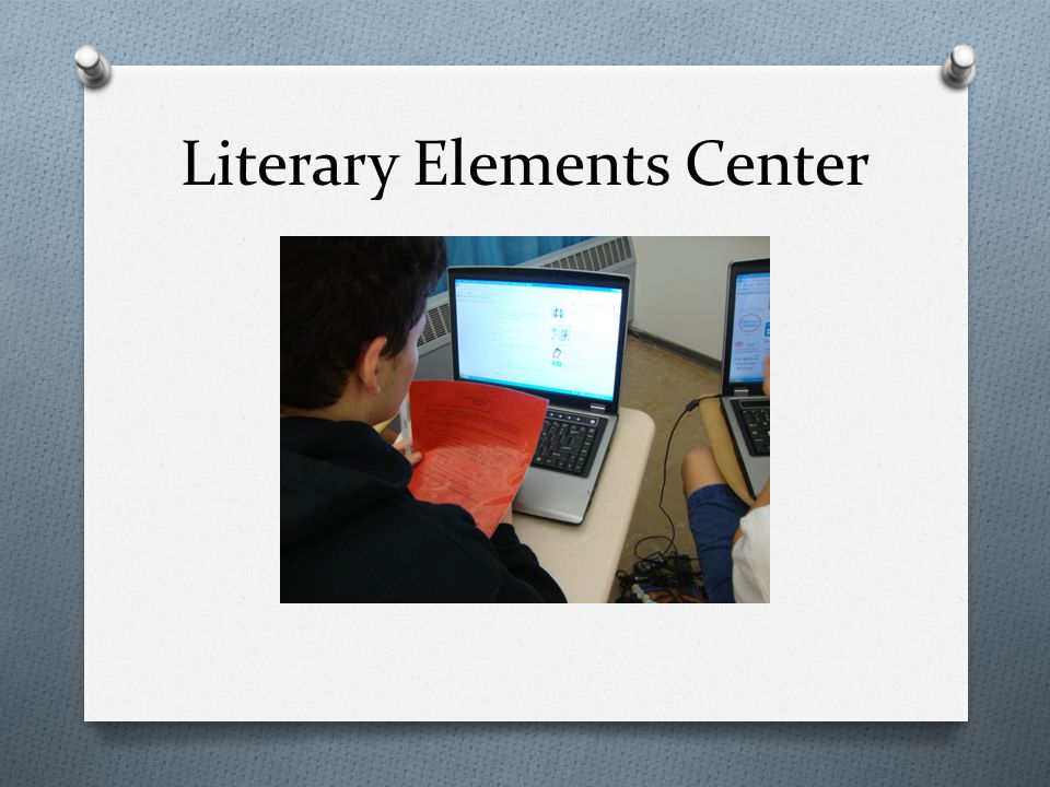Literary Elements Center