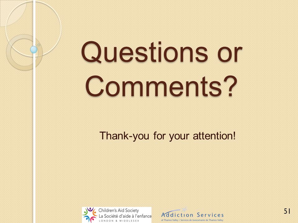 Questions or Comments? Thank-you for your attention! 51