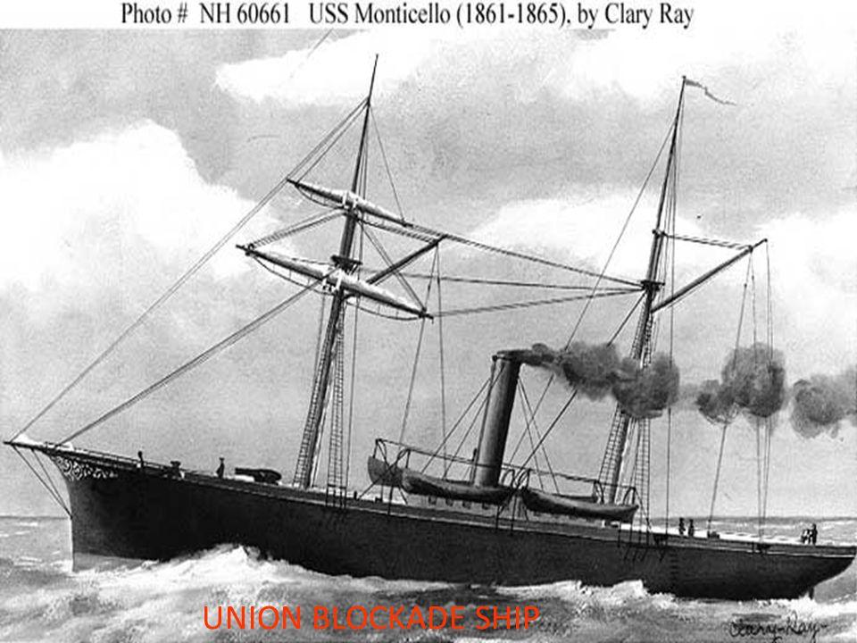 UNION BLOCKADE SHIP