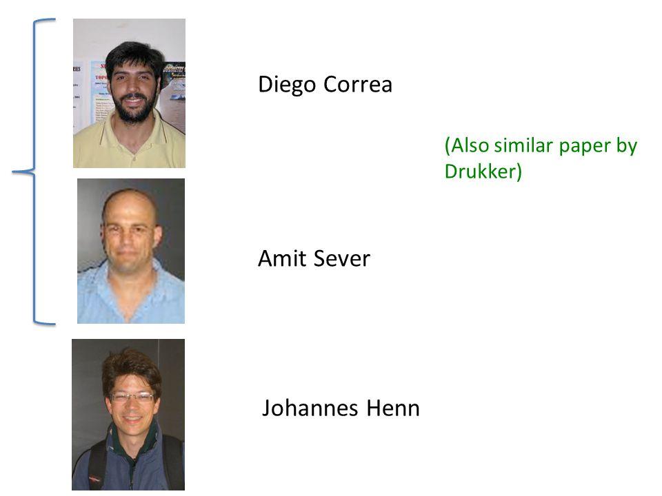 Diego Correa Johannes Henn Amit Sever (Also similar paper by Drukker)