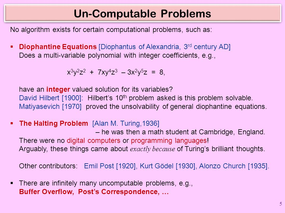 Search/OPT Problems: HARD vs EASY Hard Problems (NP-complete) Integer Linear Programming 3SAT 3Color Minimum Spanning Path Longest Path 3D Matching 0-1 Knapsack Independent Set Hamiltonian Cycle Max Cut Easy Problems (in P) Linear Programming 2SAT 2Color Minimum Spanning Tree Shortest Path Matching Fractional Knapsack Independent Set on trees Eulerian Cycle Min Cut Some (unresolved) exceptions:  Graph Isomorphism  Integer Factoring  has fast Quantum Algorithm 26