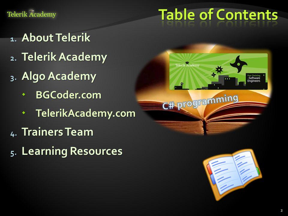 What Makes Telerik so Successful?