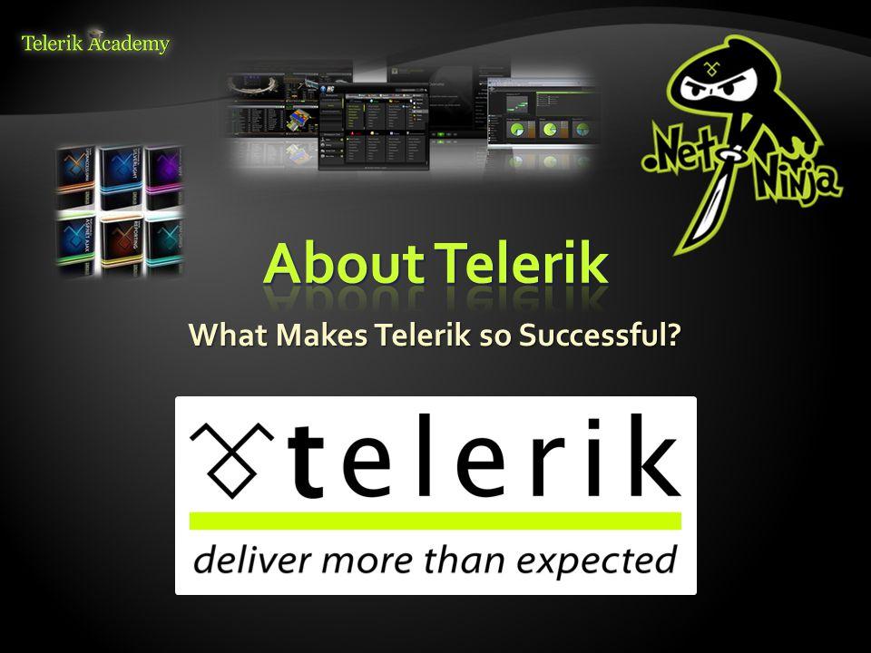  What does Telerik do.
