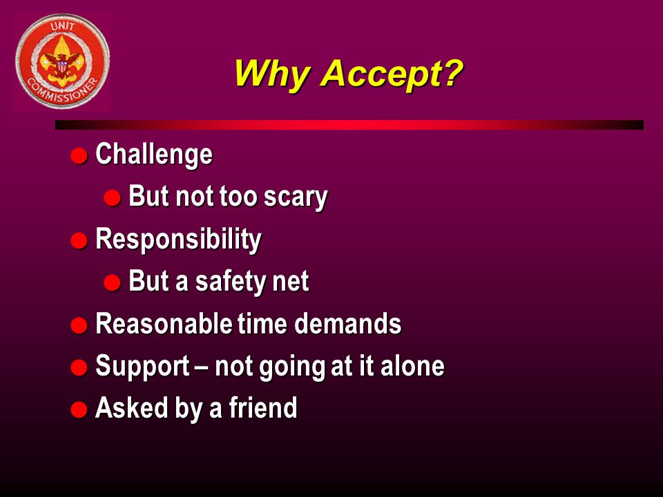 Why Accept.