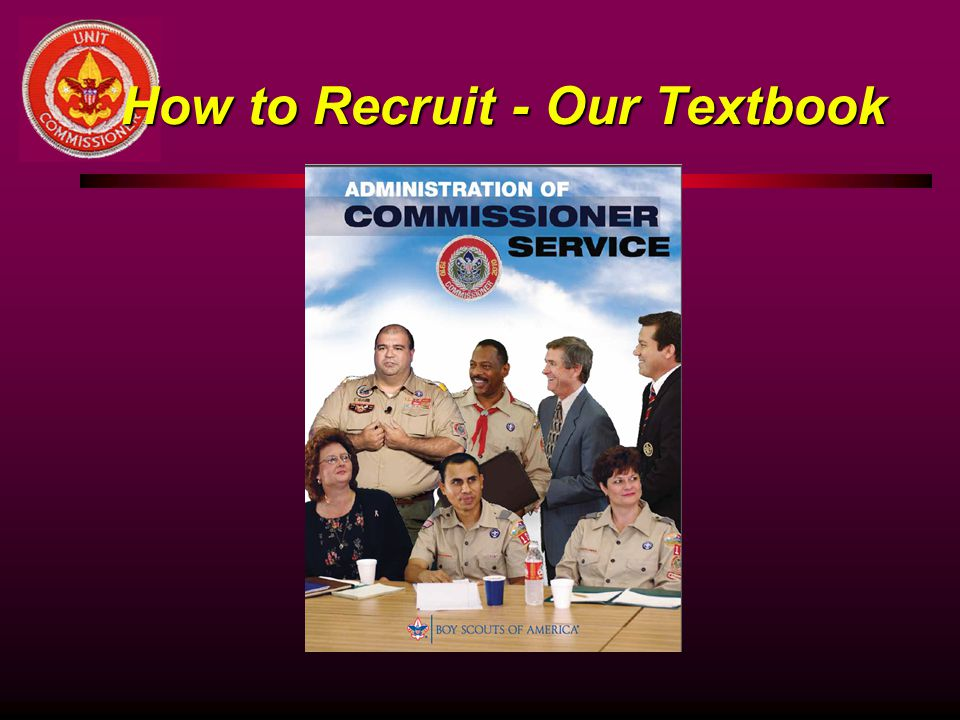 How to Recruit - Our Textbook
