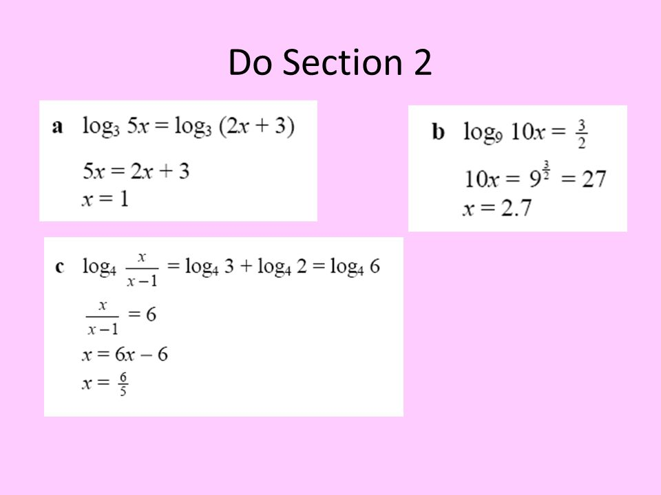 Do Section 2