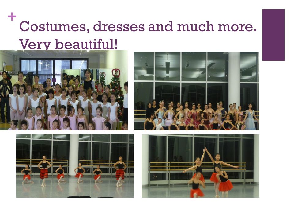 + Costumes, dresses and much more. Very beautiful!