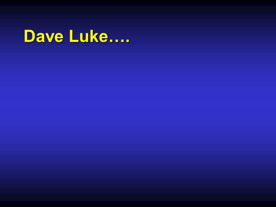 Dave Luke….