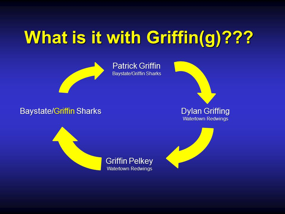 What is it with Griffin(g)??.