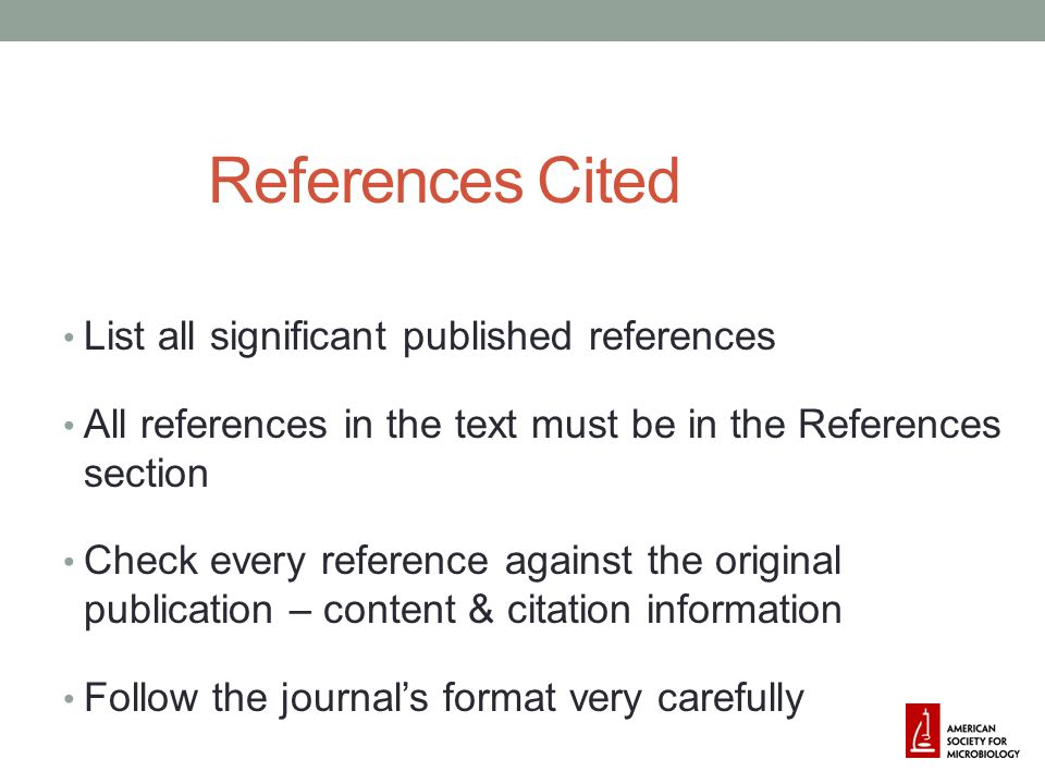 Supplemental Material Permitted by some journals Supplementary material only Format varies by journal Often web-site posting (usually managed by the journal)