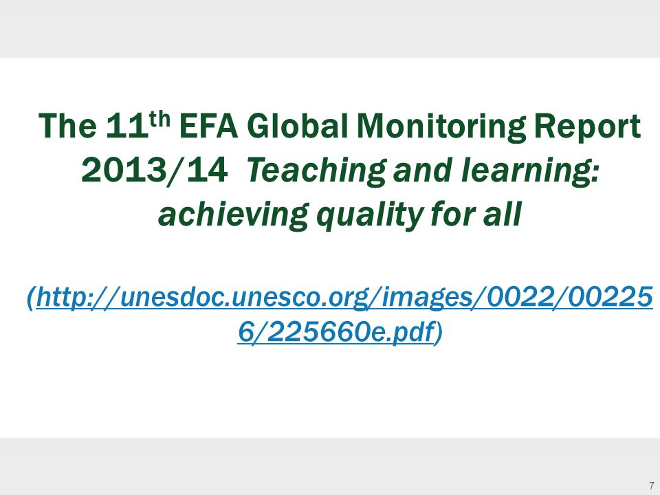 18 Ensure equitable quality education and lifelong learning for all by 2030: What Role for Open, Online and Flexible Higher Education to the Post- 2015 Global Education Agenda?