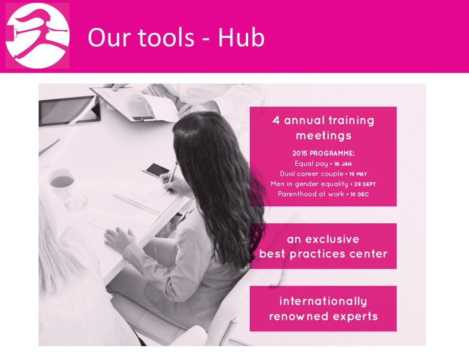 Our tools - Hub