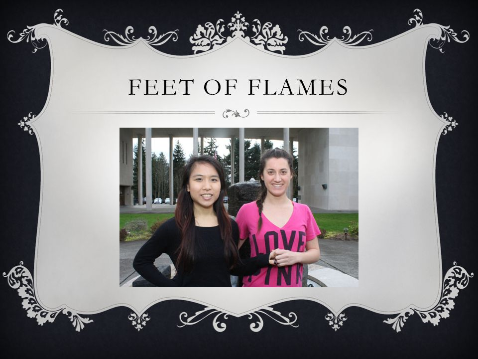 FEET OF FLAMES