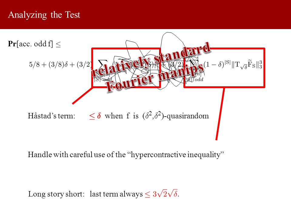 Analyzing the Test Pr[acc.