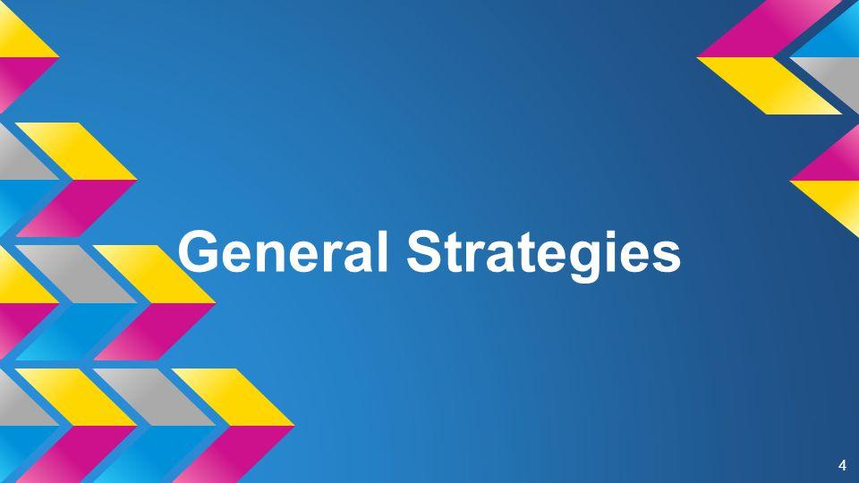 General Strategies 4