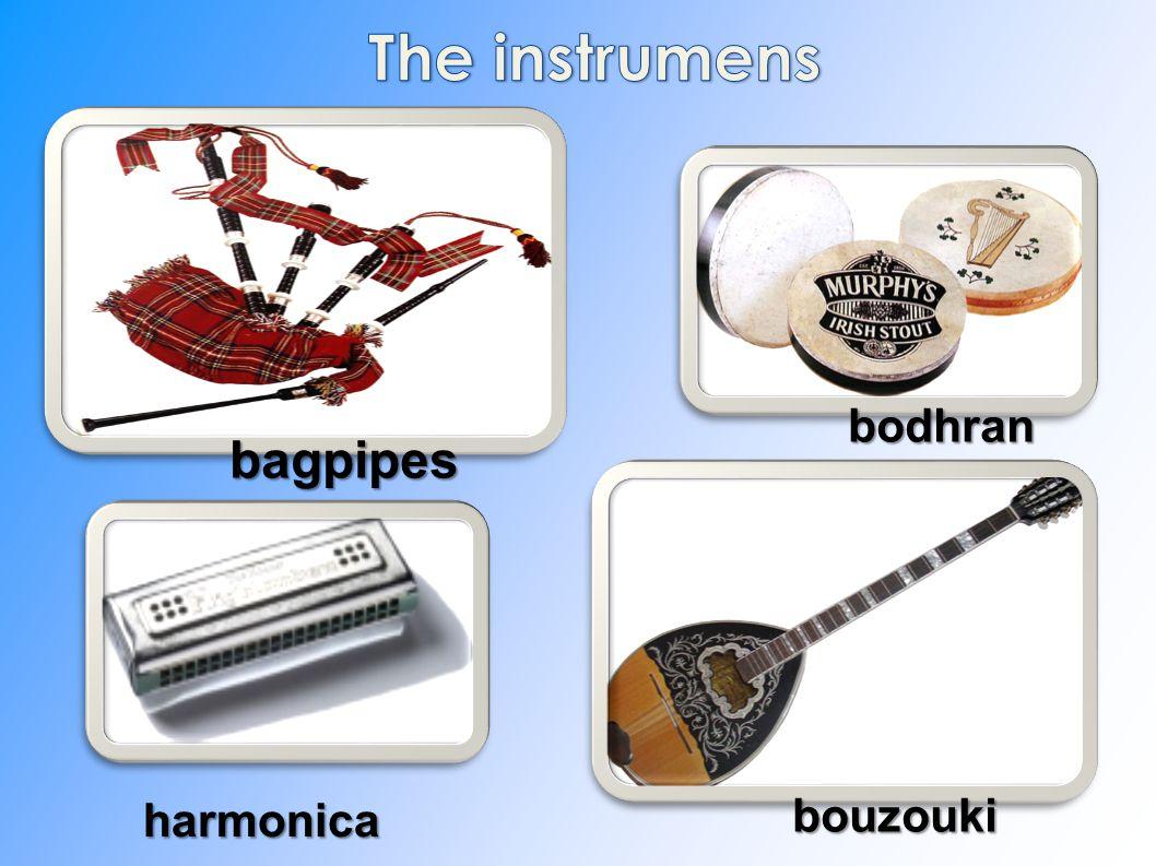 bagpipes bodhran harmonica bouzouki bouzouki