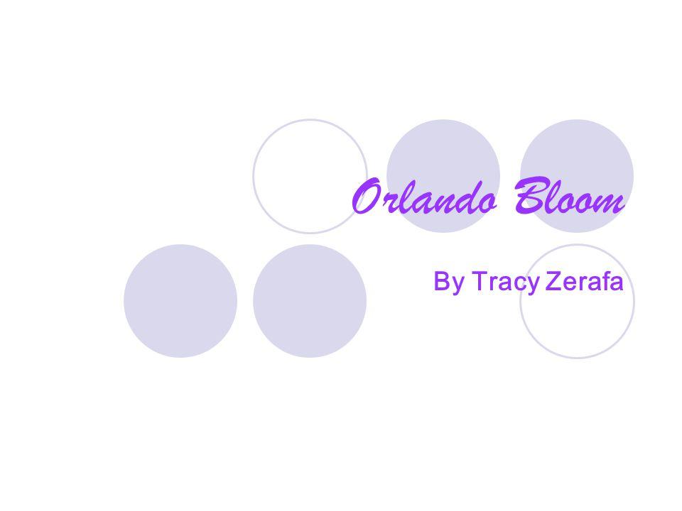 Orlando Bloom By Tracy Zerafa