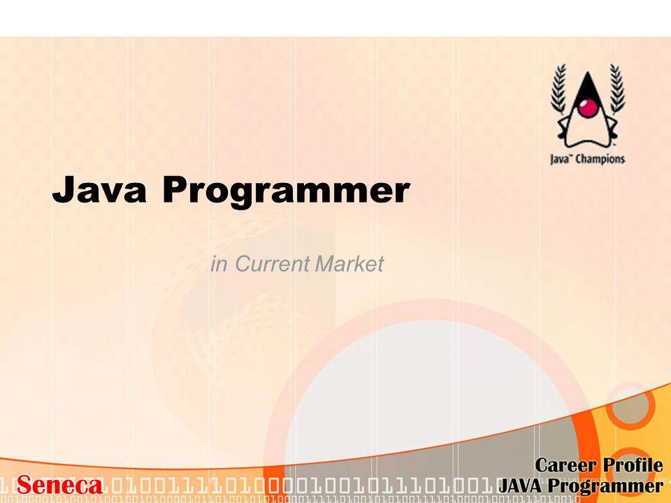 Java Programmer in Current Market
