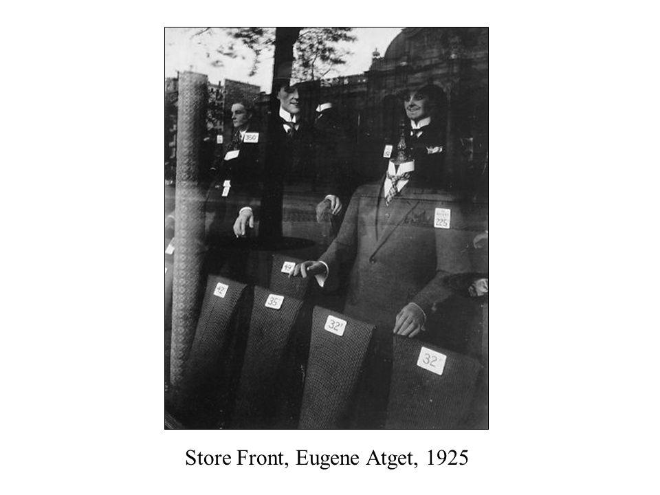 Store Front, Eugene Atget, 1925