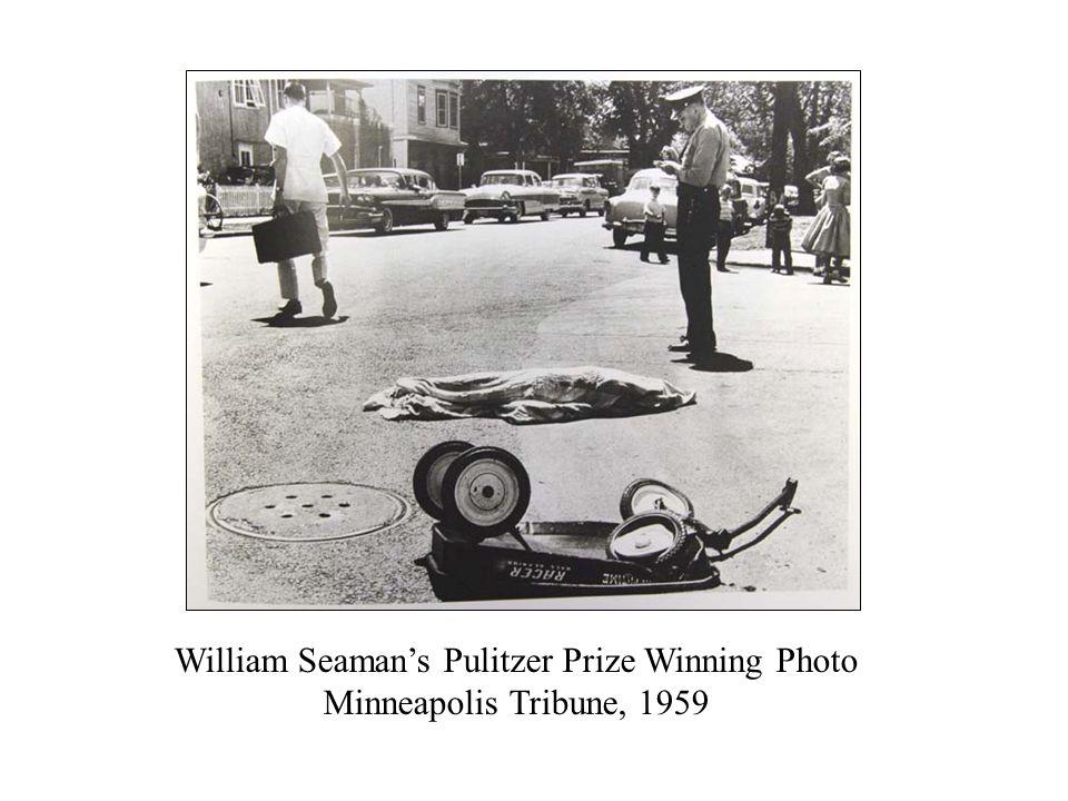 William Seaman's Pulitzer Prize Winning Photo Minneapolis Tribune, 1959