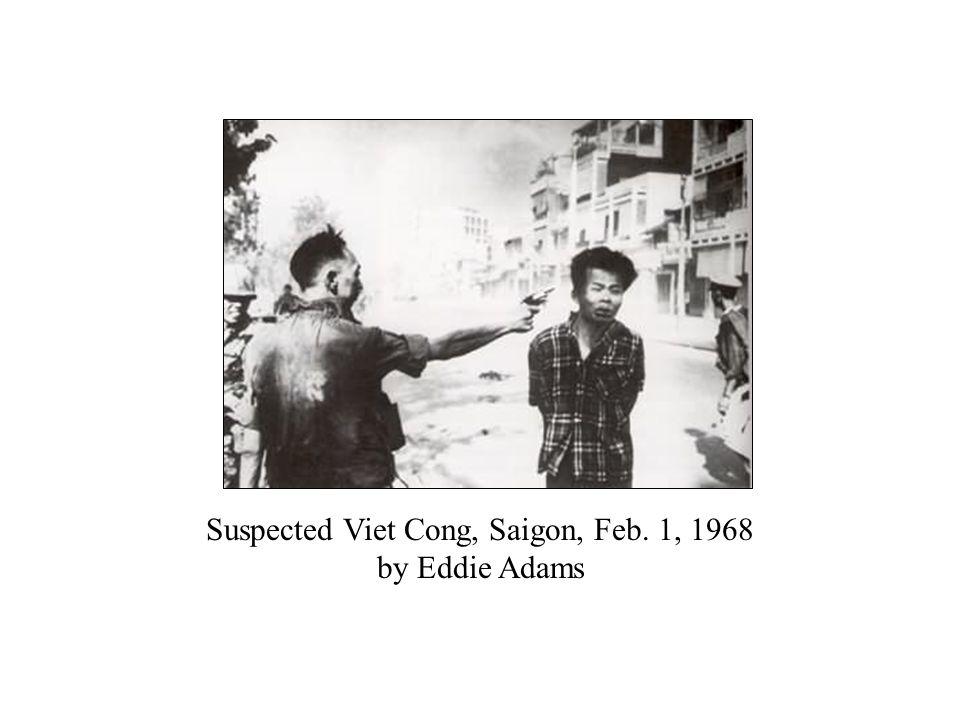 Suspected Viet Cong, Saigon, Feb. 1, 1968 by Eddie Adams