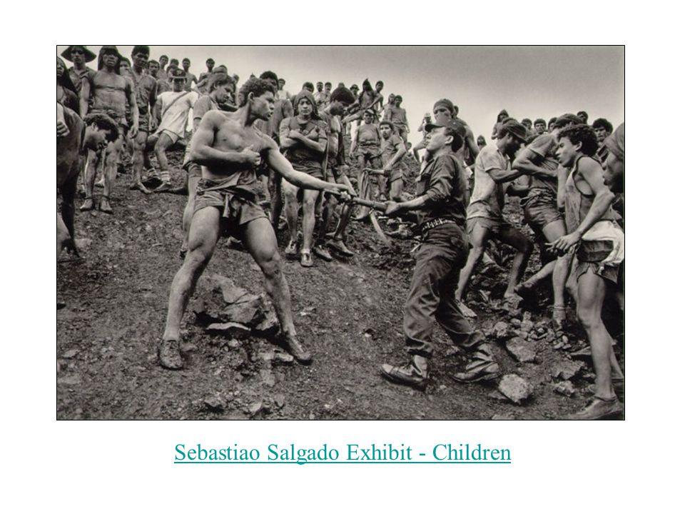 Sebastiao Salgado Exhibit - Children