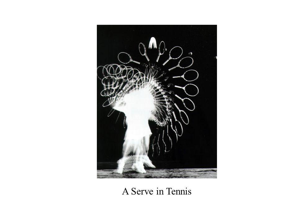A Serve in Tennis