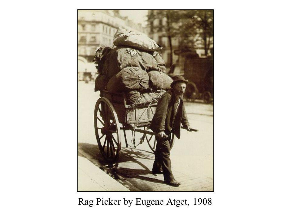 Rag Picker by Eugene Atget, 1908