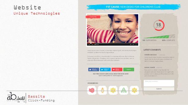 Website Unique Technologies Click-Funding Bassita