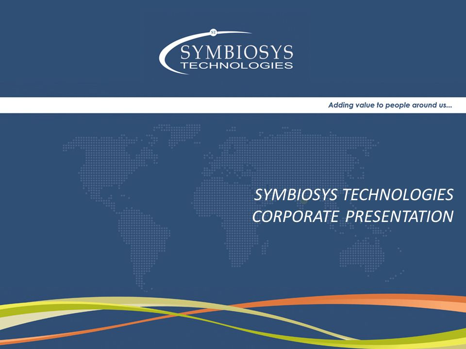 Symbiosys Technologies a CMMi level 3 & ISO 9001:2000, ISO 27001, ISO 14001 is a global IT / ITES company with a focus on industry-specific solutions (Undertaking Software Development in Microsoft.Net Framework, Java, Open Systems), Software QA Testing, Enterprise Application Integration & Engineering Services.