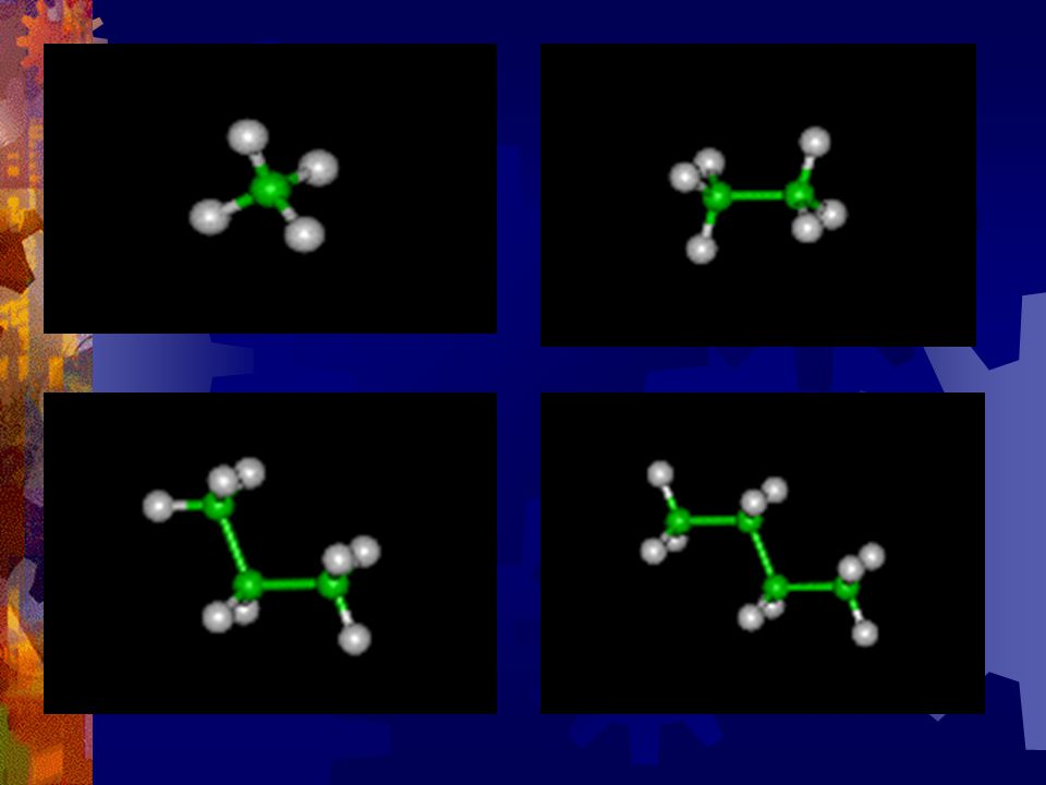  Saturated Hydrocarbons have only singe bonds  Unsaturated Hydrocarbons have at least 1 or more double or triple bonds.