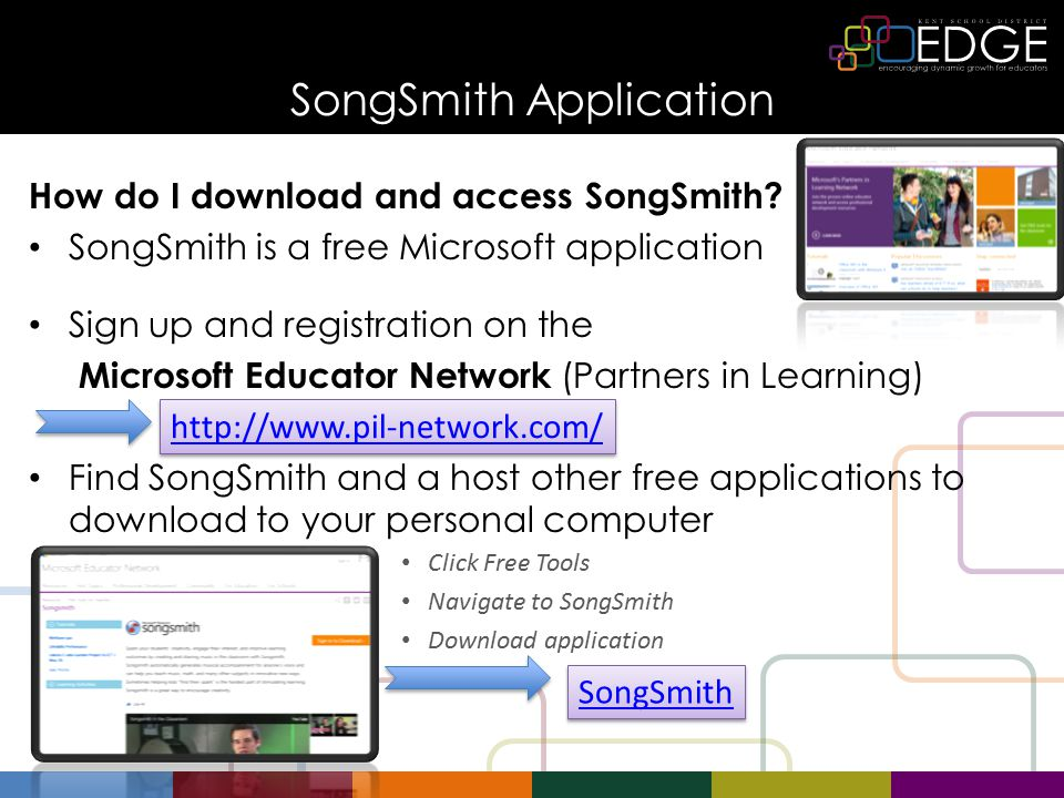 SongSmith Application How do I download and access SongSmith for School.