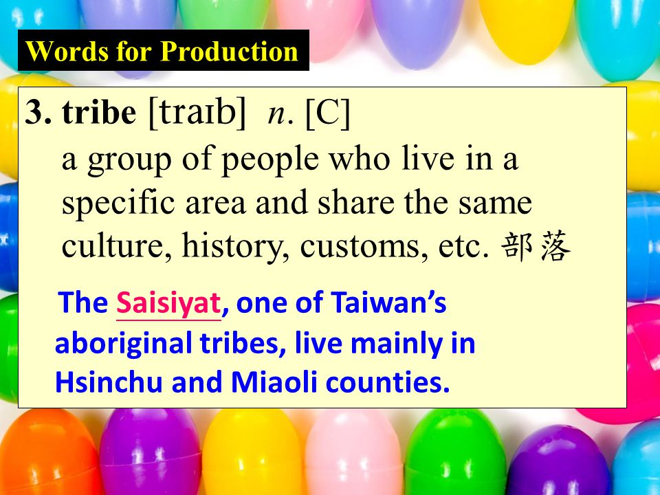 Words for Production 12.decrease  vi. to become smaller in number, size, etc.