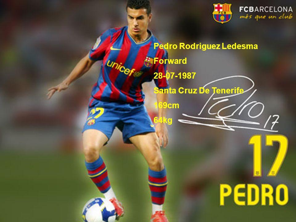Pedro Rodriguez Ledesma Forward 28-07-1987 Santa Cruz De Tenerife 169cm 64kg