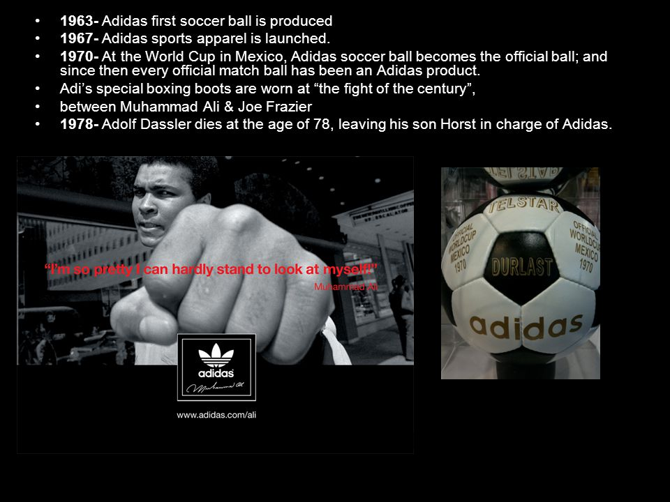1998 was another big year for Adidas as they were the sponsor for the official match ball.