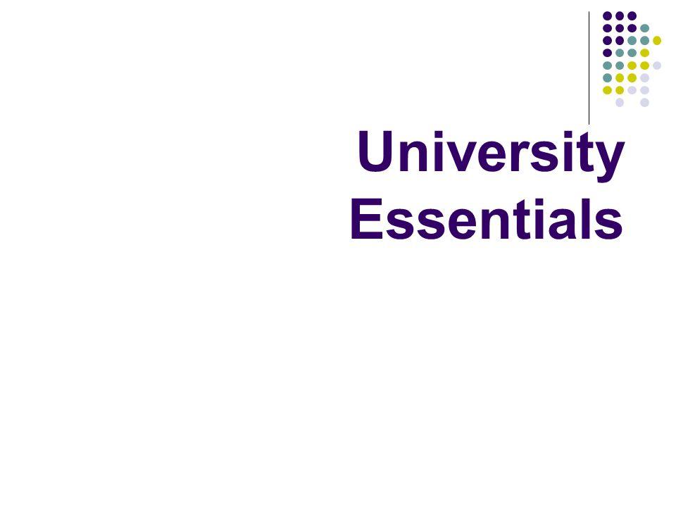 University Essentials