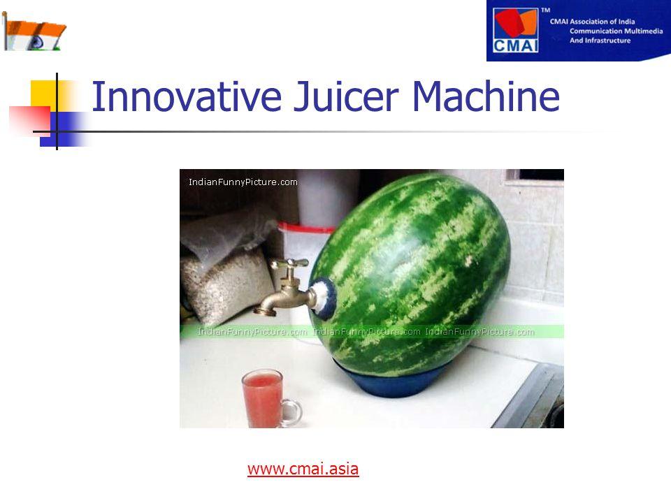 Innovative Juicer Machine www.cmai.asia