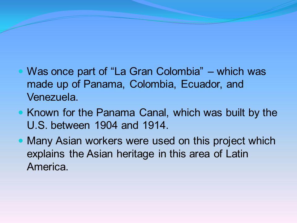 Nationality: panameño/panameña Panamá Capital: Cuidad de Panamá