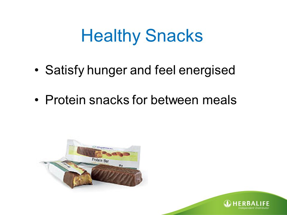Healthy Snacks Satisfy hunger and feel energised Protein snacks for between meals