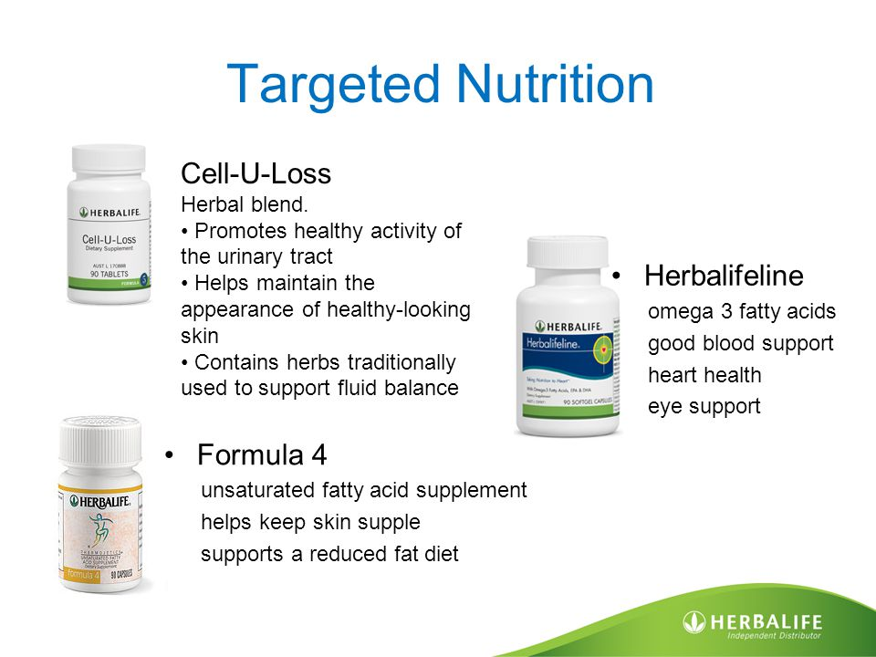 Targeted Nutrition Formula 4 unsaturated fatty acid supplement helps keep skin supple supports a reduced fat diet Cell-U-Loss Herbal blend.