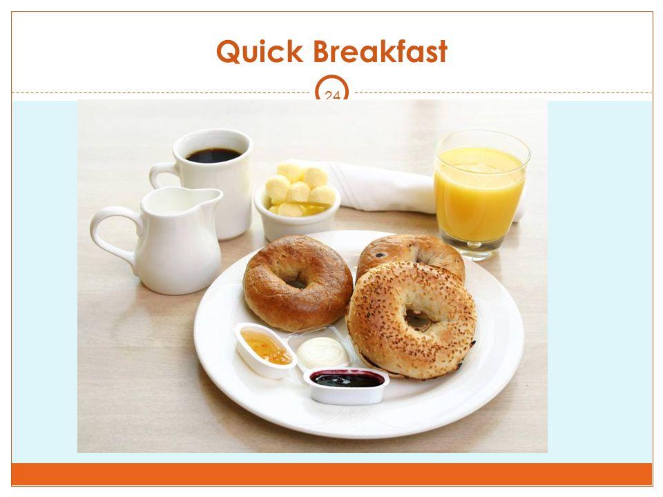 24 Quick Breakfast