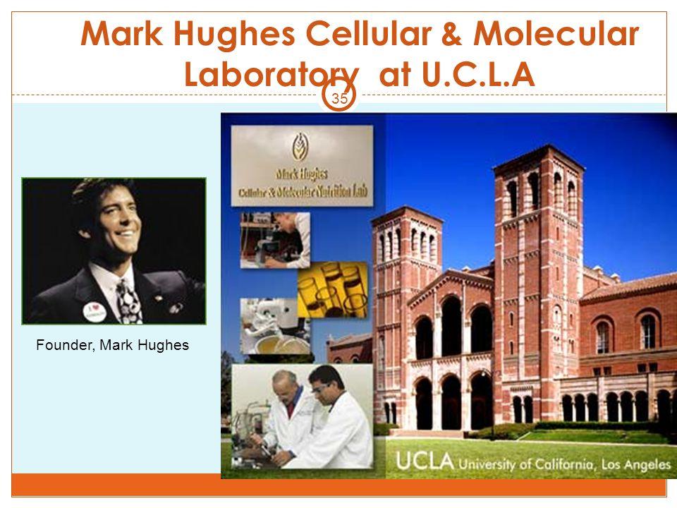 35 Mark Hughes Cellular & Molecular Laboratory at U.C.L.A Founder, Mark Hughes