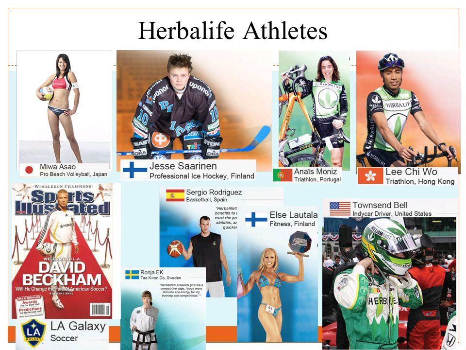 37 Herbalife Athletes