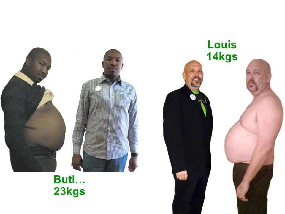 Buti… 23kgs Louis 14kgs
